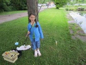 Amelia fishing