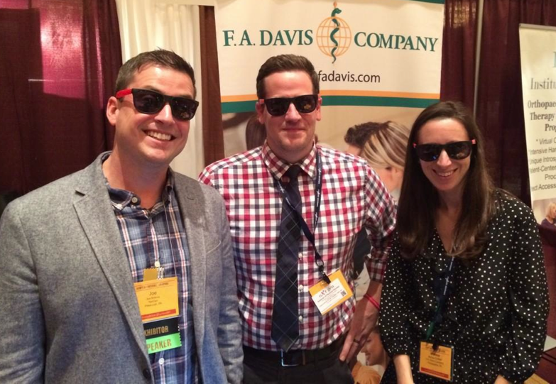 Hanging out with folks from F.A. Davis Company (publishers of some awesome Physical Therapy tests). Follow them on twitter: @FADavisCompany