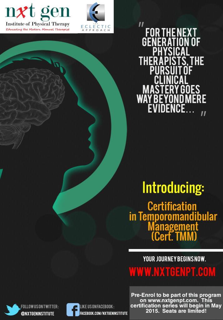Temporomandibular Cert